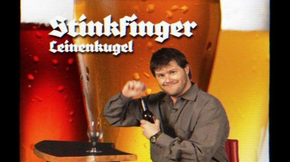 "Key - ""Stinkfinger Leinenkugel"""