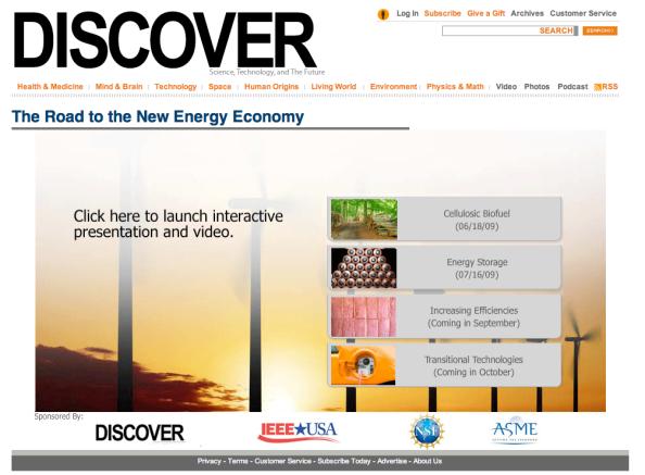 DiscoverRoadToNewEnergy